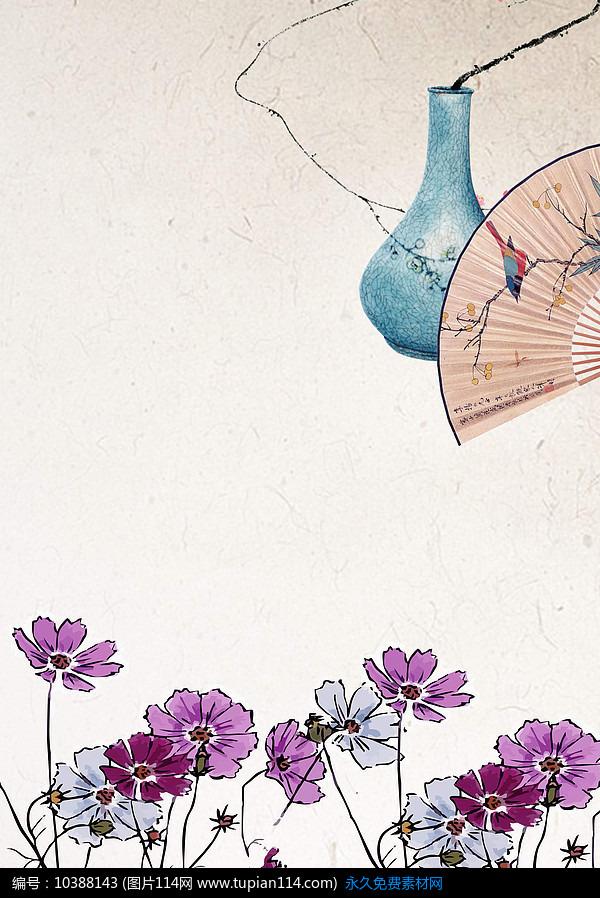 中国风海报背景设计素材免费下载_海报设计其他_图片