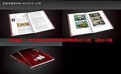 工艺美术画册提案原文件及PSD分层贴图文件