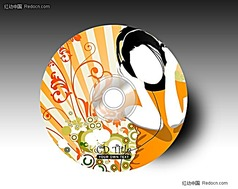 时尚音乐光盘设计