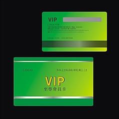 尊贵高档金属拉丝质感黄金浮雕花纹VIP会员卡设计