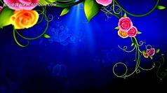 古典花纹生长视频12