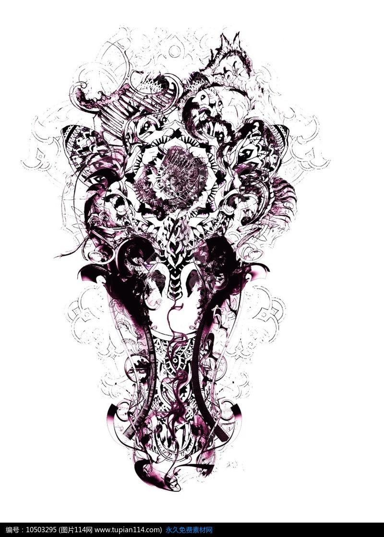 [原创] 动物创意t恤印花