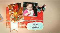 可爱宝宝家庭剪贴相册视频