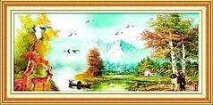 油画风景图