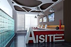装饰设计公司办公区3d模型