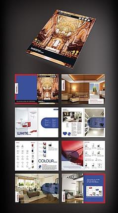 家具画册排版