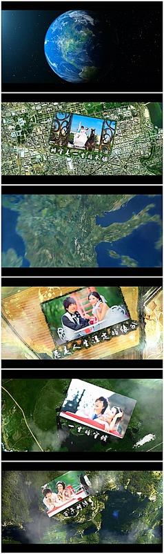 震撼婚礼开场视频