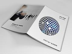 科技画册封面版式设计indd