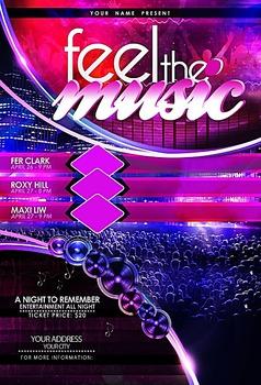 酒吧夜店创意DJ明星音乐之夜