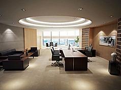 高管办公室全套家具模型