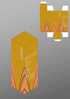 活力动感设计包装盒模板图片