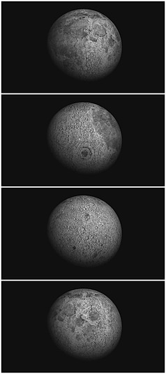 月球视频背景