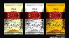 中式古典大米包装袋设计