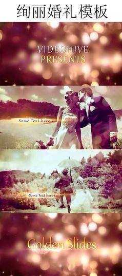 绚丽婚礼视频模板