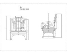 红木古典家具cad图纸