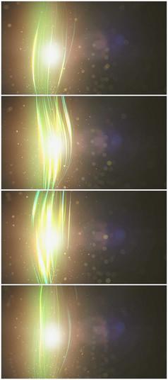 超漂亮的光线舞动视频素材