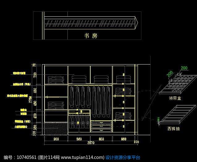 图纸结构衣柜配电图纸尺寸设计设计住宅小区图片