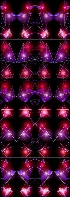 水晶彩幕LED舞臺背景
