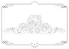 石膏线图案