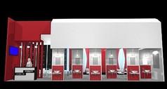 洁具卫浴展厅设计3D模型素材