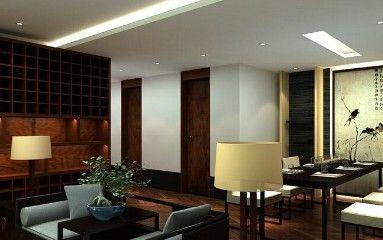 中式画室装修规划3d设计模型素材