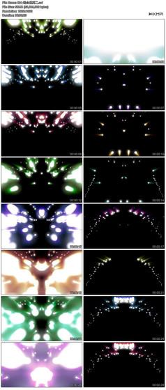 唯美炫丽闪光粒子绚丽光效光影背景视频素材