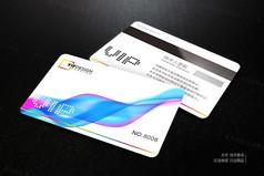 七彩VIP会员卡设计