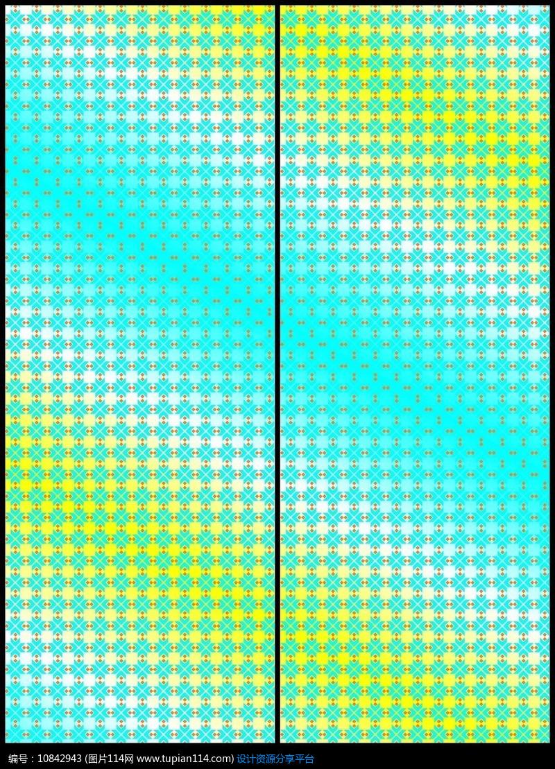 [原创] 现代简约时尚几何花纹移门图案图片