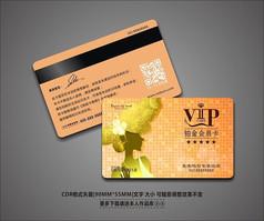 创意美容美发会所VIP会员卡