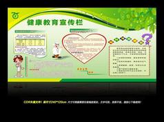 健康教育宣传栏 高血压展板设计