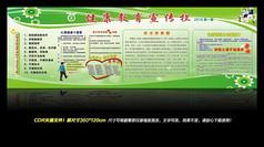 轻青少年健康教育宣传栏展板设计