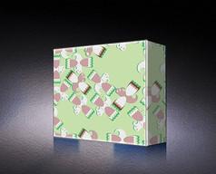 绿色精美糖果包装盒