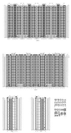 楼盘建筑施工图纸
