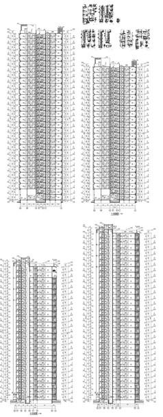 楼房建筑设计图纸