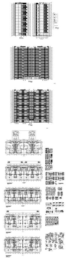 楼盘建筑户型设计图纸