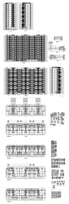 现代楼盘建筑图纸