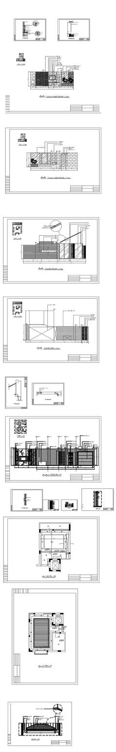 住宅装饰立面图