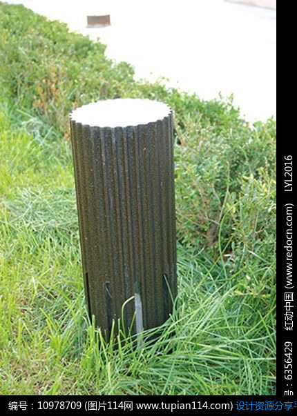 [原创] 木质简约圆柱形地灯