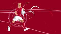 卡通足球动画宣传视频片头模板