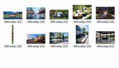 美丽的住宅景观水景意向图10P