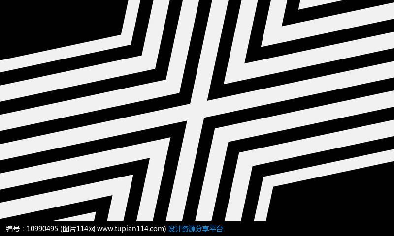 [原创] led矩阵方块频闪模特点线面黑白演绎视频素材