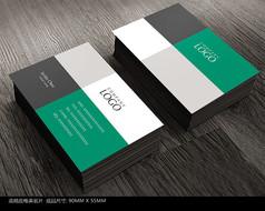 简洁商务名片设计模板