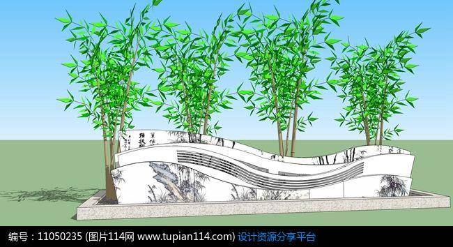 盆景 盆栽 平面图 植物 650_354