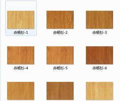 赤杨杉木纹贴图