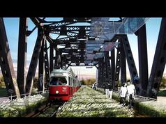 铁路桥景观设计效果图