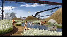 创意公园景观设计效果图