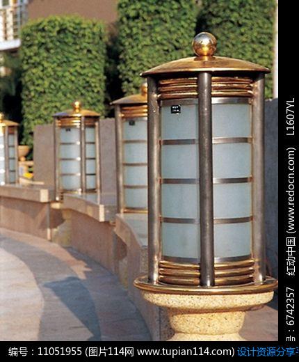 [原创] 玻璃圆柱形景观灯柱