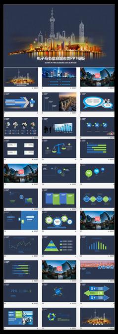 电子商务信息城市销售阶段营销执行方案PPT模板
