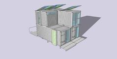 集装箱SU素材模型