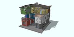 集装箱组合别墅